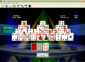 Solitaire as an arcade game. Play 75 different games. great Screen Shot